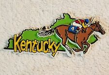 KENTUCKY DERBY REFRIGERATOR MAGNETIC USED