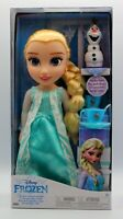 Genuine Disney Frozen Princess Elsa Doll Tea For Two With Olaf Christmas Gift 3+