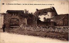 CPA Bessines - La Croix du Breuil, rendez-vous de chasse du roi Henri I (390580)