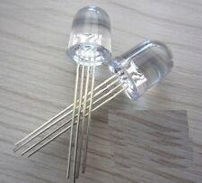 50PCS LED RGB 10MM common cathode 4-PINS Super Bright Bulb Lamp