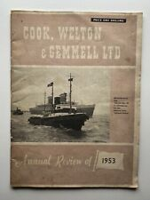 More details for cook, welton & gemmell beverley yorkshire hull shipbuilders annual review 1953