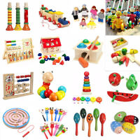 Baby Educational Kids Children Intellectual Developmental Wooden Toy Funny