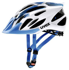 UVEX Fahrrad Helm flash white blue 53-56 UVP 69,95 € für KTM Giant Stevens u.a.