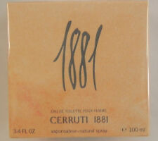 CERRUTI 1881 EAU DE TOILETTE POUR FEMME SPRAY 100ML NEW & SEALED
