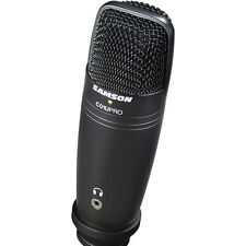Samson C01U PRO Professional USB Studio Condenser Microphone *Black Edition* NEW