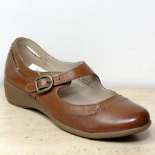 Marks and Spencer 100% Leather Mary Janes Women's Flats