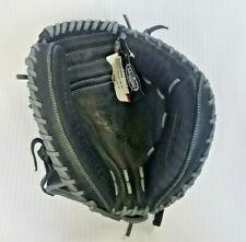 """Louisville Slugger Omaha 33.5"""" Catcher's Mitt, Black/Gray"""