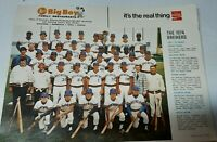 Milwaukee Brewers 1974 Team Picture RC Robin Yount Rookie Harvey Kuenn Crandall