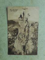 AK Der alte Fritz bei Haunritz Bergsteiger gelaufen Ansichtskarte Oberpfalz