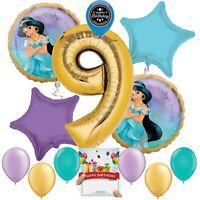 Disney Princess Jasmine Party Supplies Balloon Decoration Bundle 9th Birthday