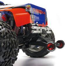 Traxxas TRA5186 Red Wheelie Wheely Willy Bar CNC Wheels: 1/10 Slash 2wd & Revo