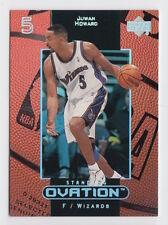 1999/00 UD STANDING OVATION JUWAN HOWARD BUCKS SP INSERT 2/50 OR 3/50 CARD #59