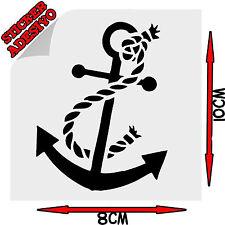 Sticker Adesivo Decal Ancora Mare Nave Anchor #1 Tuning Auto Moto