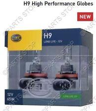 Hella Headlight H9 Replacement Globe Upgrade +100% More Light 12v 65w