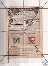 Vintage 1965 Popular Mechanics Magazine Ad A15 Quaker State SDA Tom McCahill