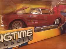 Jada Toys Bigtime Muscle 1957 Chevy Corvette Primer Car . Finish Flaw !