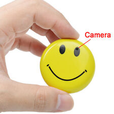 HD Mini Spy Smile Face Camera DVR Video Recorder Hidden Covert Camcorder DV Cam