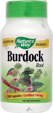Burdock Root, Nature's Way, 100 capsule