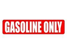 GASOLINE ONLY Vinyl Decal / Sticker / Door Labels Truck Gas Fuel Safety Label