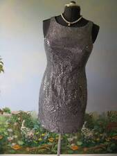 DALMYS Dress Women's Bling sequin Evening Dress Size 9 New