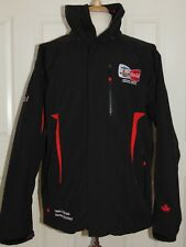 2010 Vancouver Olympics Coca Cola Recycled Bottle Insulated Black Jacket XL