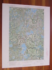 Two Inlets Minnesota 1974 Original Vintage USGS Topo Map