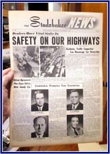 Studebaker News dealer paper Nov 1951 8 page cars trucks 50+ photos