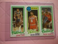1980 TOPPS ALL STAR JULUIS ERVING SIXERS