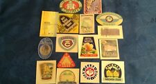 Luggage Label Hotel nice lot of 16 different Labels