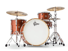 Gretsch Catalina Club Rock 4 Piece Drum Set - Satin Walnut Glaze