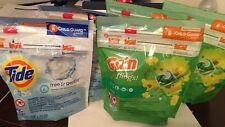 Lot of 3x Gain Flings and 2x Tide Pods. Free Shipping