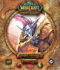 World of Warcraft The Adventure Game Dongon Swiftblade Character Pack Brand NEW