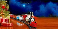 North Pole Classic Train Track Set Sounds Christmas Tree Holiday Electric Gift