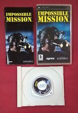 Impossible Mission - PSP - USADO - BUEN ESTADO