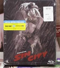 BRAND NEW SIN CITY STEELBOOK!  BLU-RAY+HD ULTRAVIOLET! SOLD OUT! REGION FREE!