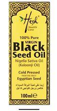 Hesh Pure Virgin Black Seed Oil 100ml Kalonji Caraway Natural Nigella Sativa
