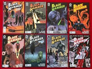 BLACK HAMMER 1 TO 13 ANNUAL 1- 1ST PRINTS - COMPLETE SET / DARK HORSE COMICS