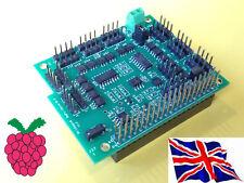 Rs-Pi i2c 1-Wire 17 canal (17 vía ) placa para Raspberry Pi B+ b Plus