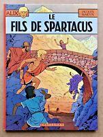 ALIX T. 12 Le FILS de SPARTACUS EO 1975 / J. Martin Univers Tintin Superbe état