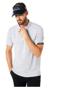 Oakley Hydrolix -- GRAVITY Polo -- Golf Shirt -  Mens -  Blackout - S Small BNWT