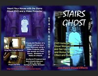 STAIRS GHOST - HALLOWEEN WINDOW PROJECTION DVD 2012 JON HYERS