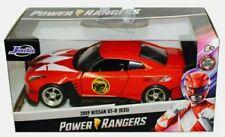 POWER RANGERS 2009 NISSAN GT-R (R35) RED RANGER JADA TOYS DIE CAST