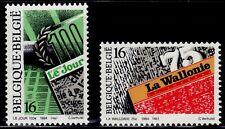 SELLOS BELGICA 1994  2544/45 PRENSA 2v.