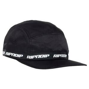 Genuine Rip N Dip Taped Nylon Camper Cap - Black
