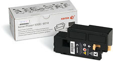 NEW Genuine Xerox Phaser 6000/6010/6015 Printer Black Toner Cartridge 106R01634