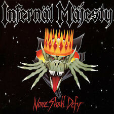Infernal Majesty ‎– None Shall Defy LP Clear Vinyl / New Re (2016) Thrash Metal