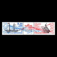 """TAAF 1989 - Ships """"La Curieuse"""" - Sc C105a MNH"""