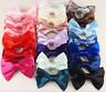 1x Women Girls Baby Kids Satin Ribbon Bowknot Headwear Hair Bow Hair Clip Pin
