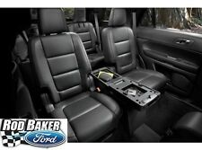 Black 11 - 18 Explorer OEM Genuine Ford 2nd Row Storage Console Charcoal/Pebble