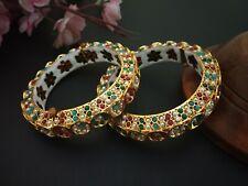 Stylish Traditional Jadau Rajwadi Kada Padmavati Indian Bollywood jewelry